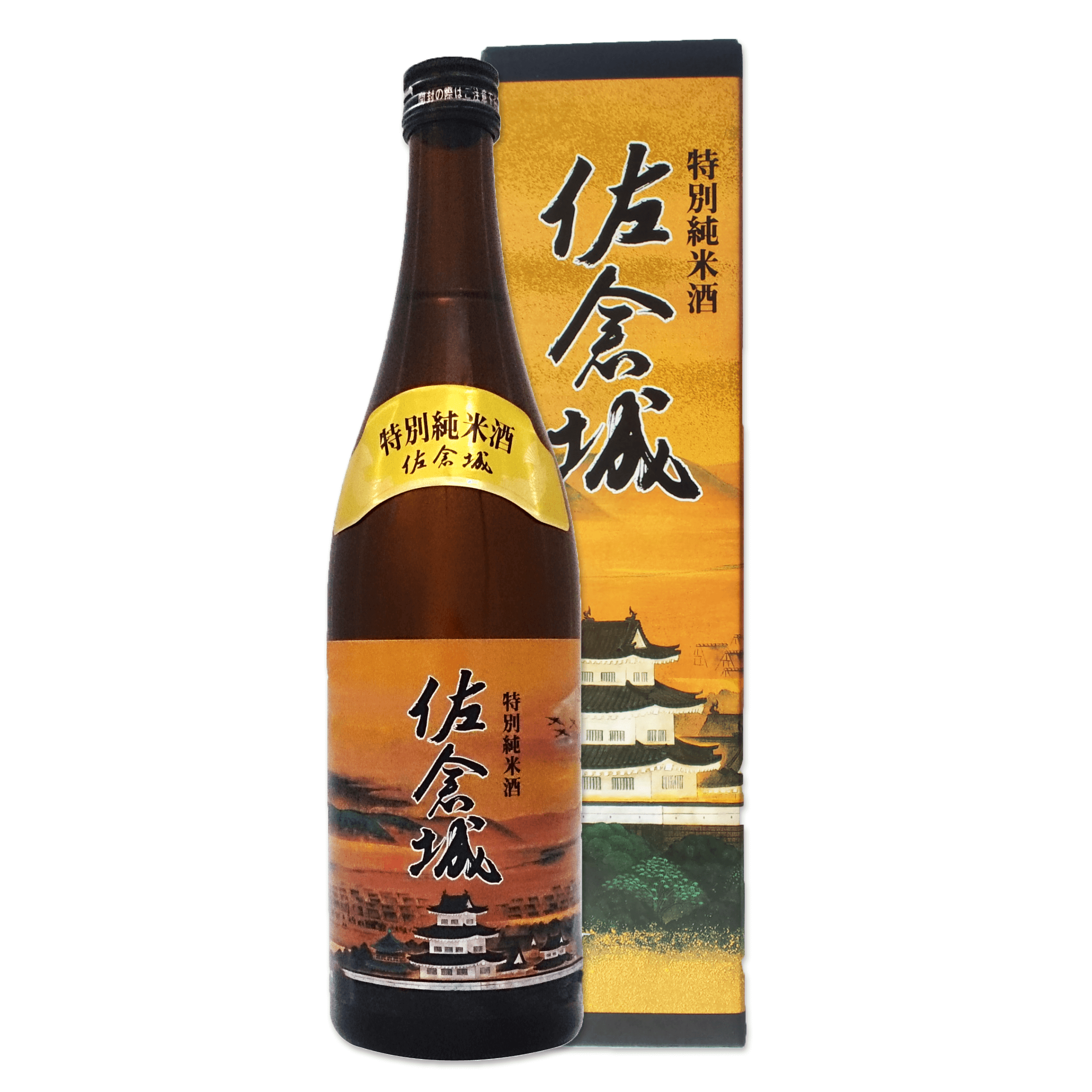 佐倉城(茶・トップ画像)
